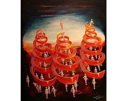Spiral Movement by Santiago Ribeiro
