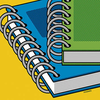 Ron Magnes - Spiral Notebooks