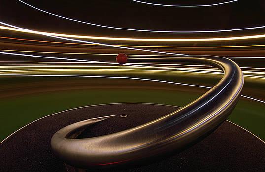 Spiral Orbit by Hugo Baptista