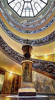 Weston Westmoreland - Spiral Staircase from below