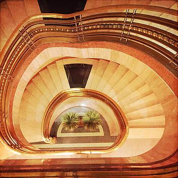 Spiral Staircase by Heidi Hermes