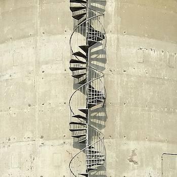 Spiral Staircase by Julie Gebhardt