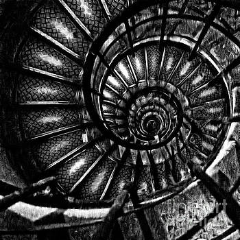 Edward Fielding - Spiral Staircase Paris France