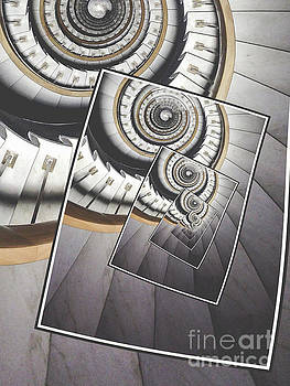 Spiral Staircase by Phil Perkins