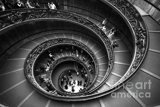 Spiral Stairs Horizontal by Stefano Senise