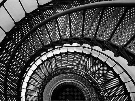 Spiral Stairway by Jose antonio De freitas