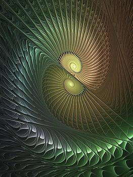 Spirals in Love by Gabiw Art