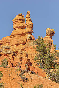 Spire Casto Canyon by Peter J Sucy