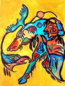 Spirirt of Morrisseau by Chris Walker