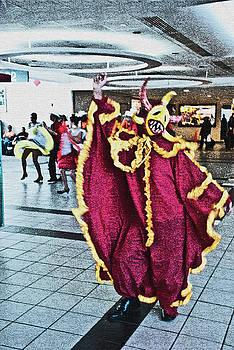 Spirit Dancer At SJ Airport by Frank Feliciano