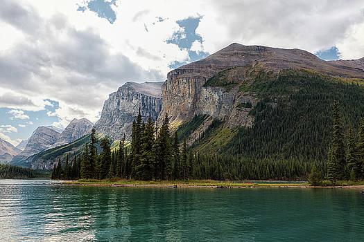 Spirit Island and Queen Victoria Mountains by Dennis Kowalewski
