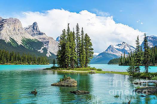 Spirit Island, Jasper National Park by Michael Wheatley