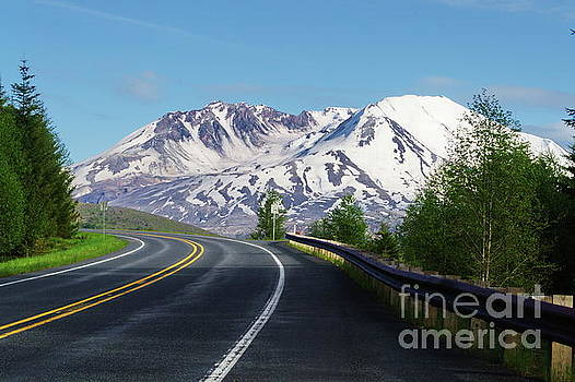 Spirit Lake Highway to Mt. St. Helens by Ansel Price