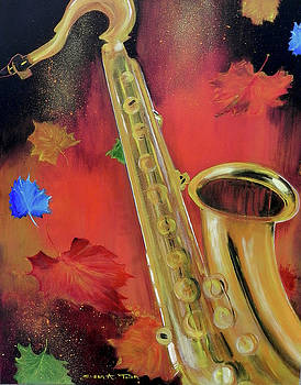 Spirit of Fall Jazz by Susan  Toler