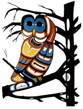 Spirit of Owl by Gordon Perreault