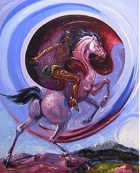Spirit Of The Black Hills  by Gordon Sage
