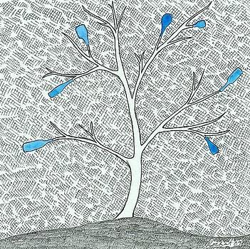 Spirit Tree 1 by Melanie Rochat
