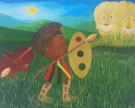 Spirit Warrior by Greg Roberson