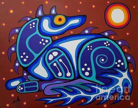 Spirit Wolf by Jim Oskineegish