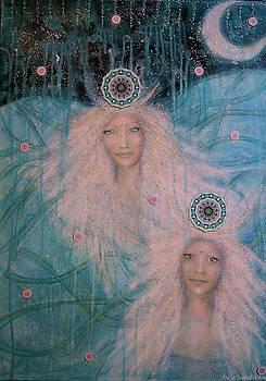 Spirits of the sea - Moonlight serenade by Lila Violet