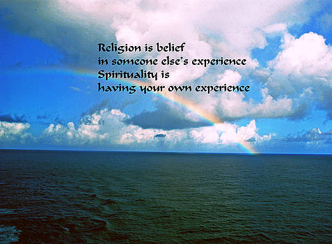 Gary Wonning - Spiritual Belief