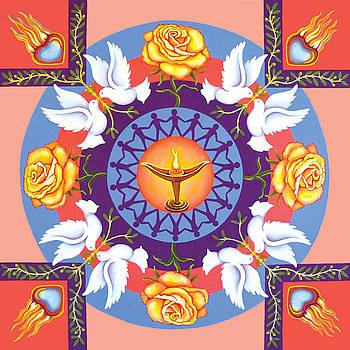 Spiritual Mandala by Barbara Rockhold