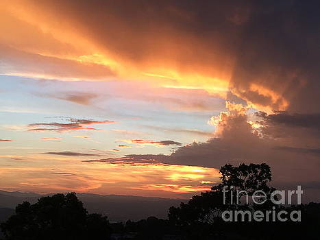 Spiritual Sunset by The Art of Alice Terrill