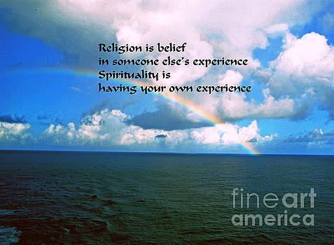 Gary Wonning - Spirituality