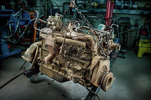 Spitfire Straight 8 Engine  by YoPedro