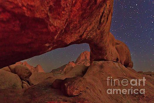 Spitzkoppe under the stars by Tim Hauf