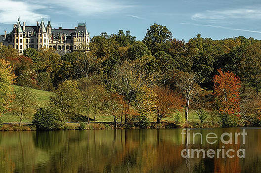 Splash of Color at Biltmore by Dale Powell