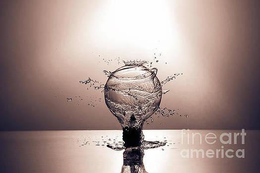 Splash Of Light - Copper Tone by Alexander Butler