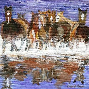 Splashing Around by Jamie Frier
