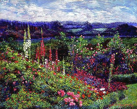 Splendorous Garden by David Lloyd Glover