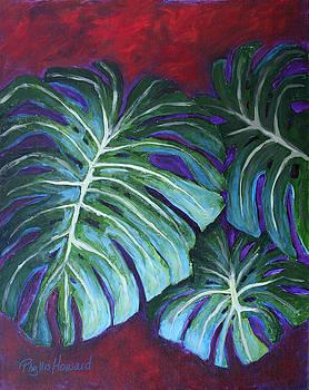 Phyllis Howard - Split Leaf Philodendron