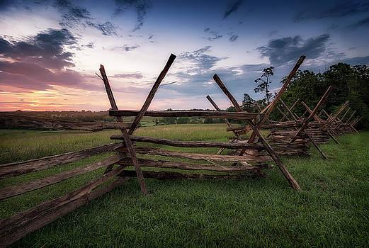 Split Rail Fence by Ryan Wyckoff