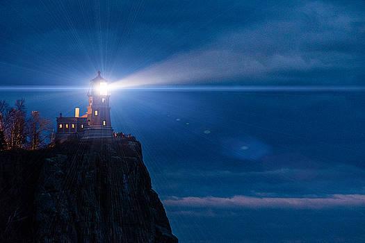 Split Rock Beacon by Mark Goodman