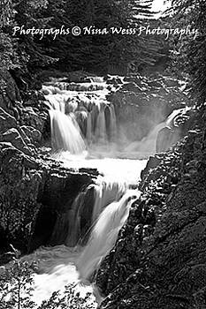 Split Rock Falls in the Adirondack Park - Best Landscape Photography Christmas Gift by Nina Weiss