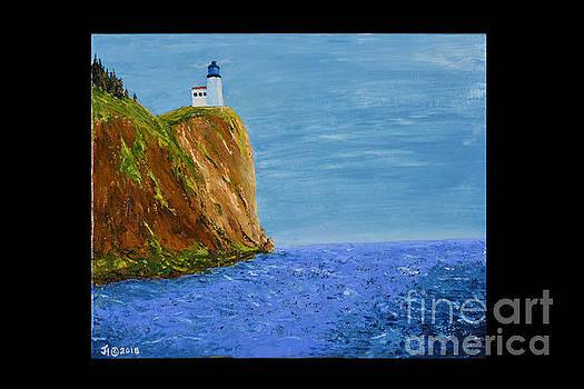 Split Rock Lighthouse by Jack Hedges