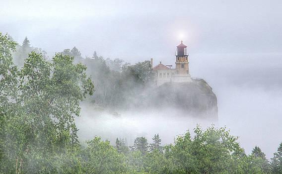 Split Rock Lighthouse Lake Superior North Shore by J Laughlin