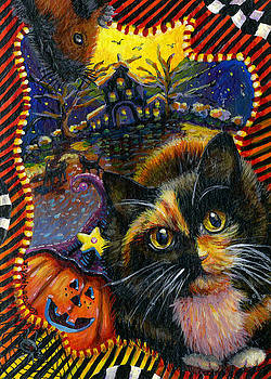 Spooky Autumn with My Friends by Jacquelin Vanderwood
