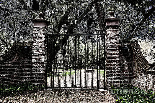 Dale Powell - Spooky Fenwick Castle Gate