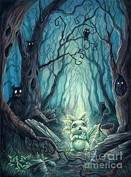 Spooky Forest by Anne Koivumaki - Fine Art Anne