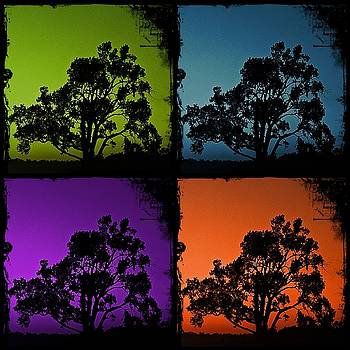 KayeCee Spain - Spooky Tree- Collage 1
