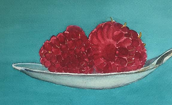 Spoonful of Raspberries by Sharon Gerber