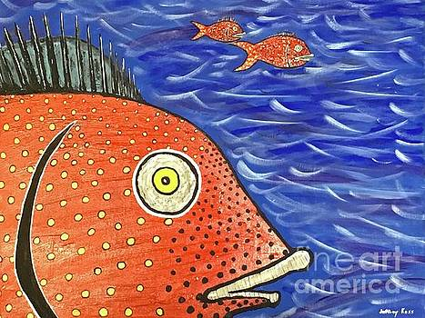 Spotted Red Fish by Jeffrey Koss