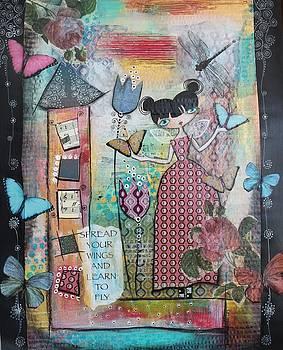 Spread your wings by Johanna Virtanen