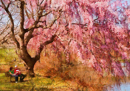 Mike Savad - Spring - Sakura - A Beautiful Spring day