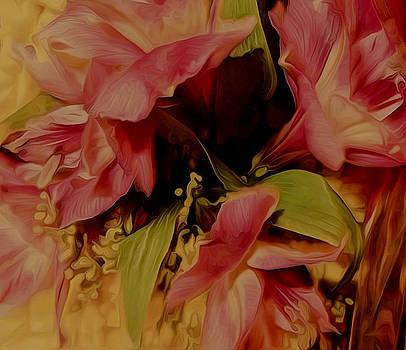 Spring Abstract II by Elizabeth Tillar