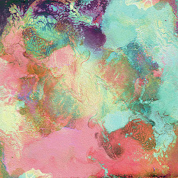 Spring Abstract Painting by Julia Fine Art